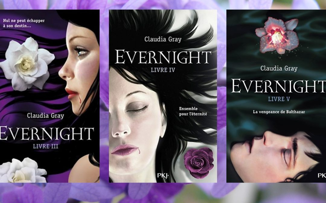 Evernight tome 3 à 5