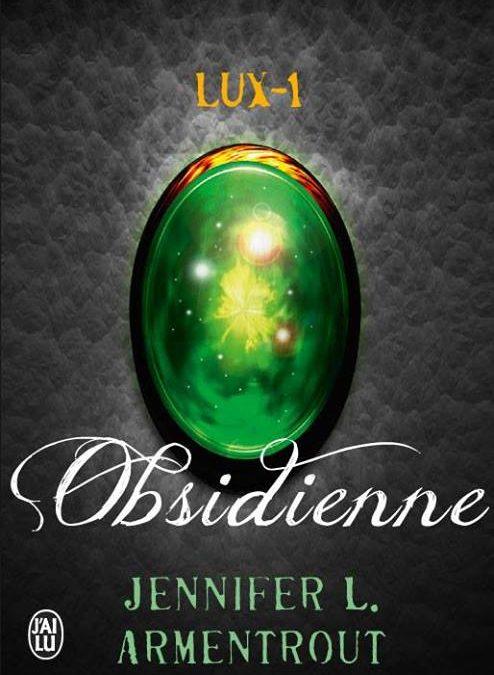 Lux tome 1 – Obsidienne